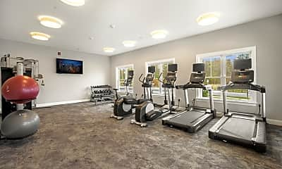 Fitness Weight Room, Trouvaille: The Homes at Shannon Farm, 2