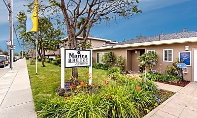 Community Signage, Marina Breeze Apartment Homes, 2