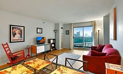 Living Room, 401 N 1st St 1215, 0