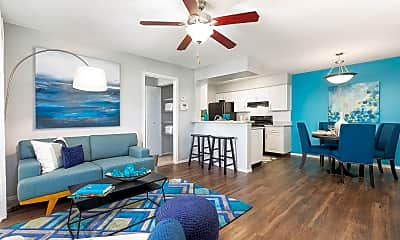 Living Room, Reserve at Lake Irene, 0