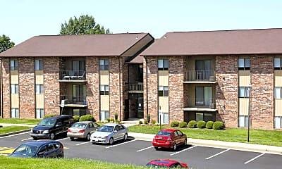 Building, Burnam Woods Apartments, 0