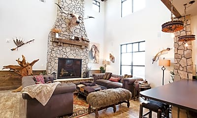 Living Room, Bucking Horse Apartments, 0