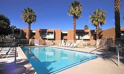 Pool, Palm Springs View Apartments, 0