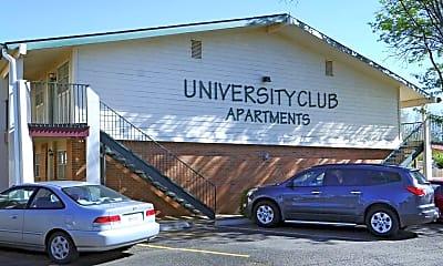 Community Signage, University Club Apartments, 1