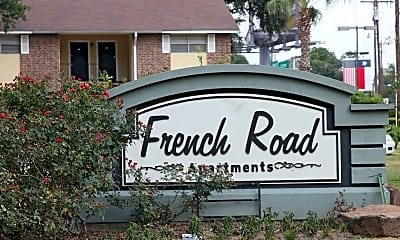 Community Signage, French Road Apartments, 2
