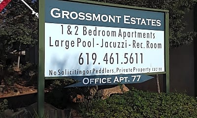 Grossmont Estates, 1