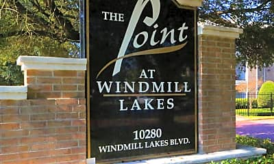 Community Signage, The Point at Windmill Lakes, 2