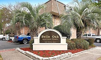 Community Signage, Belle Oak Apartments, 0