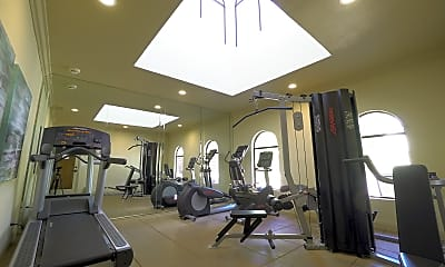 Fitness Weight Room, Pacific Harbor Sunrise, 2