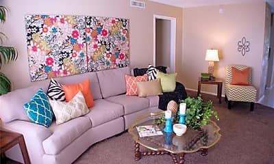Living Room, 2800 Sayles Blvd 21B, 1