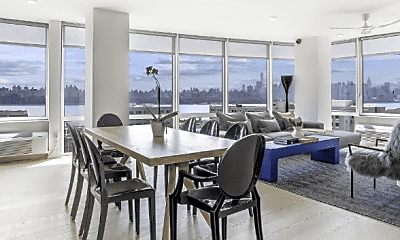 Dining Room, 7607 River Rd, 1
