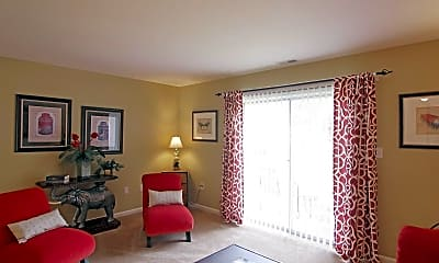 Living Room, Fords Pointe, 1