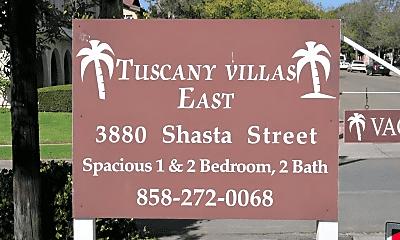 Community Signage, 3880 Shasta St, 2