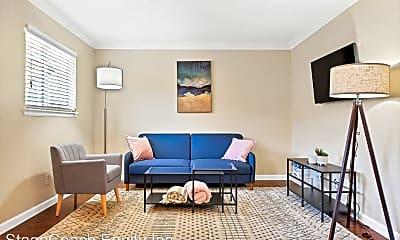 Living Room, 3200 N MacGregor Way, 1