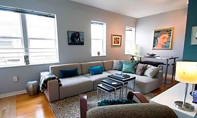 Living Room, 1521 Lenox Ave, 1