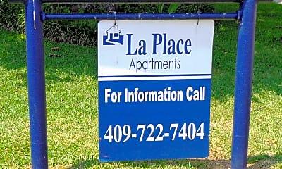 Community Signage, La Place Apartments, 0