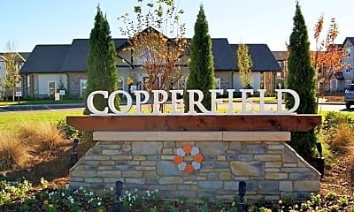 Community Signage, Copperfield, 2