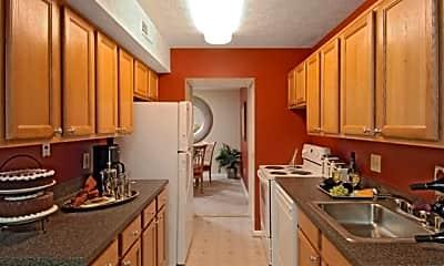 Kitchen, Glen Oaks, 1