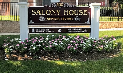 Salony House Senior Apartments, 1
