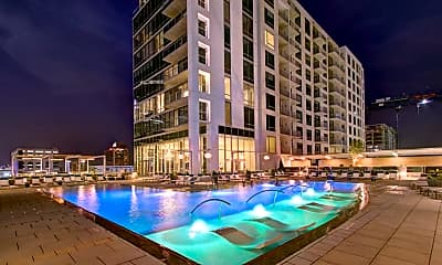 Pool, Novel Stonewall Station Apartments, 0