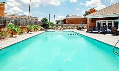 Pool, Halcyon Park Apartments, 1