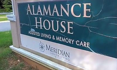 ALAMANCE HOUSE, 1