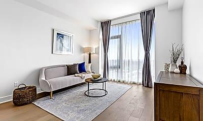 Living Room, 50-11 Queens Blvd 204, 1