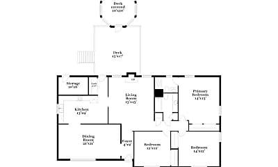 Building, 6210 Coatbridge Ln, 1