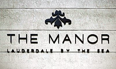 Community Signage, The Manor Lauderdale By The Sea, 2