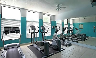 Fitness Weight Room, The Villages of Lake Boone Trail, 1
