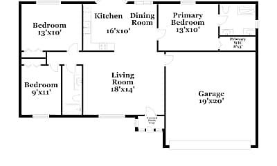 Building, 1461 SW Medina Ave, 1