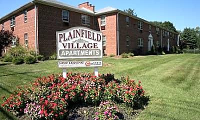Community Signage, Plainfield Village & Norwood Garden Apartments, 1
