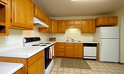 Kitchen, Pinehurst Apartments, 1
