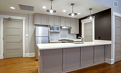 Kitchen, Good Counsel Apartments, 0