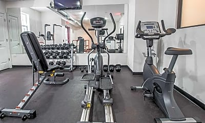 Fitness Weight Room, Water's Edge at Rahway, 2