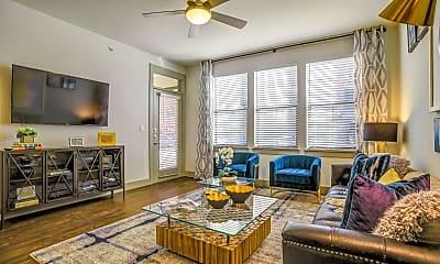 Living Room, Trinity Union Apartments, 0
