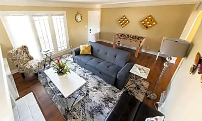 Living Room, 1058 Allen Ave, 1
