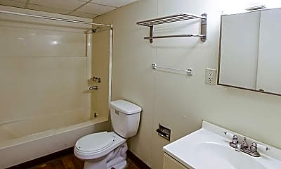 Bathroom, Pinetree Apartments, 2