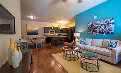 Living Room, Springs at Knapps Crossing, 1