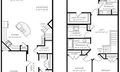 Living Room, 14916 Savannah Hall Dr, 2