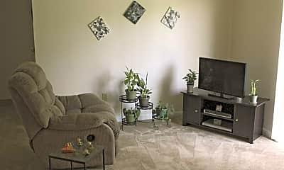 Living Room, Three Pines, 1