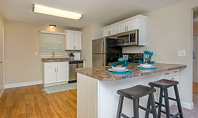 Kitchen, Edgewood Court, 1