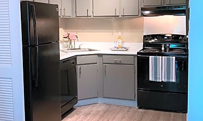 Kitchen, The Towers at Forest Acres, 2