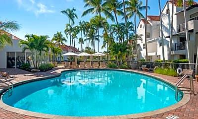 Pool, Sheridan Ocean Club Apartments, 1