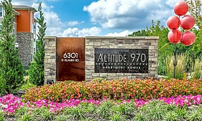 Community Signage, Altitude 970, 0