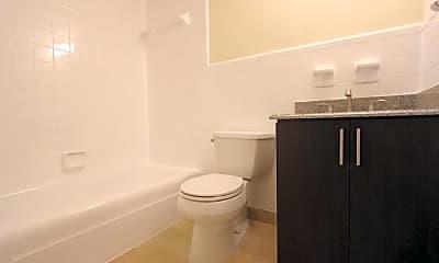 Bathroom, Beach Heights Apartments, 2
