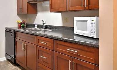 Kitchen, Symmes Apartments, 1