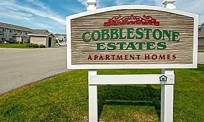 Community Signage, Cobblestone Estates, 2