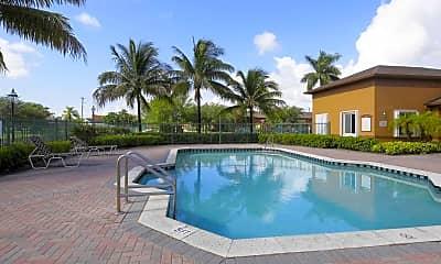 Pool, Running Brook Apartments, 0
