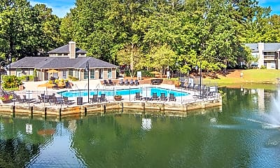 Pool, Colonial Village At Westchase, 1